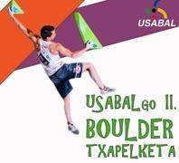 El 17 de enero II Campeonato Boulder de Usabal