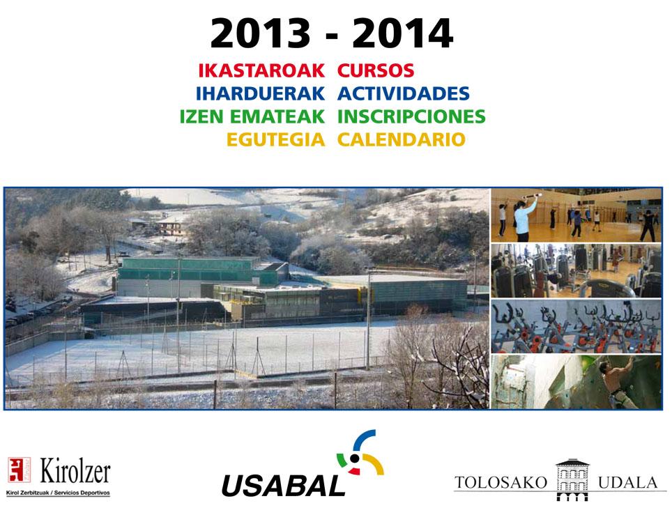 ACTIVIDADES FISICO DEPORTIVAS TEMPORADA 2013-14